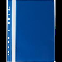 Скоросшиватель A4 PROFESSIONAL 11 отверстий PVC темно-синий Buromax
