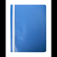 Скоросшиватель пластиковый А4 120х180 мкм PP синий Buromax