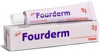 Fourderm 20 грамм уникальный антибактериальный крем. Лечит все виды кожных воспалений