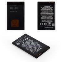 Аккумулятор BL-4U для мобильных телефонов Nokia 300 Asha, 305 Asha, 308 Asha, 311 Asha, 3120c, 500, 5250, 5330, 5530, 5730, 600, 6212c, 6600s, 8800