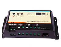 Фотоэлектрический контроллер заряда EPIPDB-COM10 (10А, 12/24Vauto, удаленный LCD, зарядка 2-х бат.), фото 1