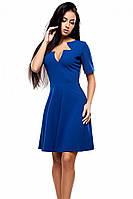 S (42-44) / Класичне коктейльне плаття Malva, синий