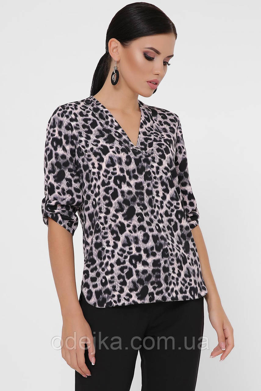 Блуза Clare BZ-1786 леопард