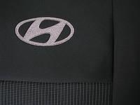 Чехлы фирмы EMC Элегант тканевые для Hyundai Santa Fe 2013-