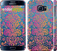 "Чехол на Samsung Galaxy S6 G920 Барокко хамелеон ""2020c-80"""