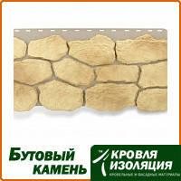 """Фасадная панель """"Бутовый камень"""", цвет: Греческий; 1,13х0,47м"""