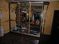 Шкаф купе с зеркальными фасадами