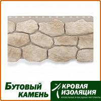 """Фасадная панель """"Бутовый камень"""", цвет: Нормандский; 1,13х0,47м"""