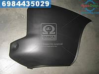 ⭐⭐⭐⭐⭐ Угольник бампера задний   правый  FIAT DOBLO 05-09 (пр-во TEMPEST)