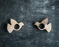 Кольца для салфеток Голубь,свадебные товары