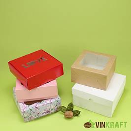 Коробки для зефира (высота 4-5 см)