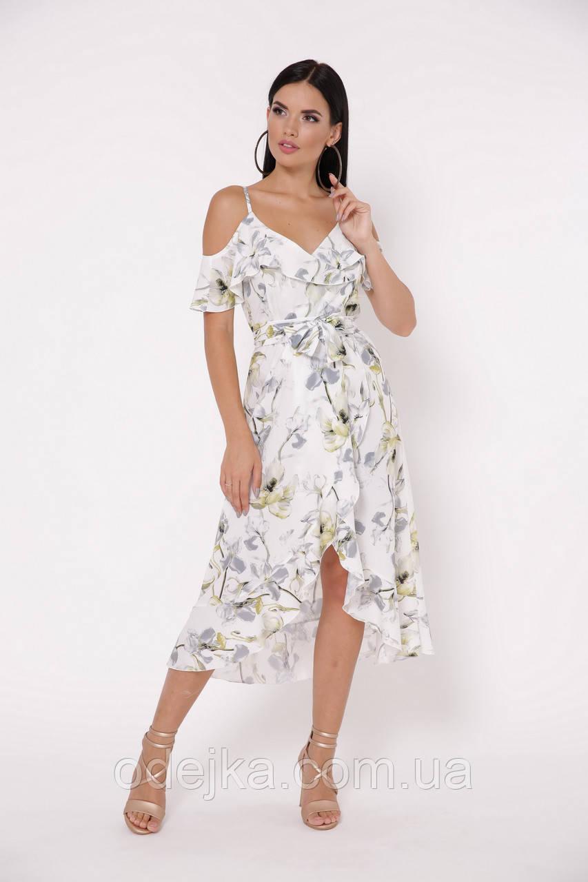 Платье Бони цветы
