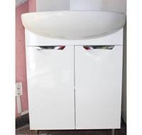 Тумба для ванной комнаты Грация Т1 с умывальником Акцент-65л