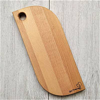 Доска деревянная разделочная / сервировочная из массива бука