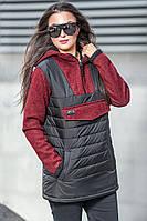 Куртка анорак демисезонная Белуччи, (5цв), демисезонная женская куртка, короткая куртка осень, весна
