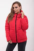 Куртка демисезонная Асимметрия №47, (4цв), женская куртка короткая, короткая куртка осень, весна, дропшиппинг