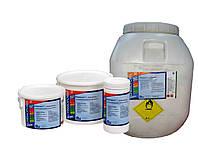 Chemochlor Multitab - Медленнорастворимый хлорпрепарат комплексного действия 4 в 1(табл. 200 г) 5 кг