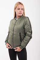 Куртка демисезонная Бусинки №45, (2цв), женская куртка короткая, короткая куртка осень, весна, дропшиппинг