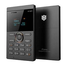 Микро Мобильный телефон-кредитная карточка iFcane E1