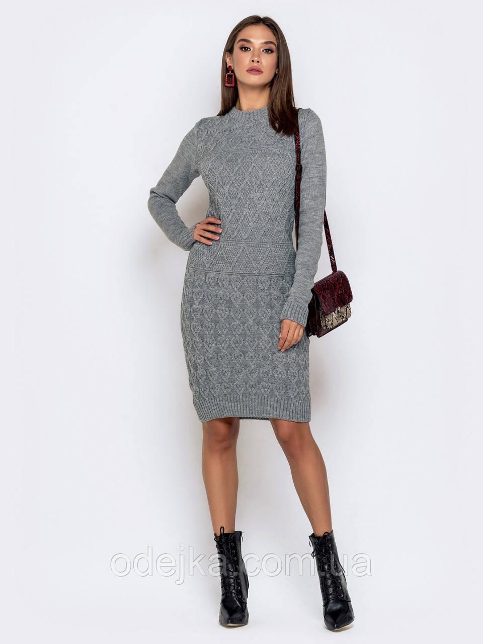 Платье вязанное Хвос