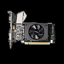 Видеокарта GeForce GT710, Gigabyte, 2 Гб DDR3, 64-bit (GV-N710D3-2GL), низкопрофильная, відеокарта, фото 3