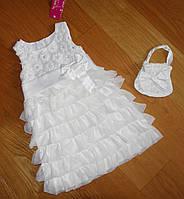Платье детское, 3 и 4  года, пышное праздничное