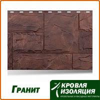 """Фасадная панель """"Гранит"""", цвет: Альпийский; 1,134х0,474м"""