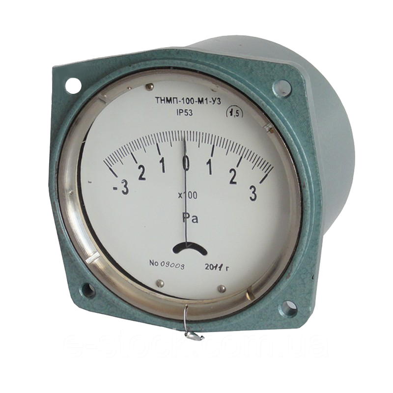 Тягомеры ТмМП-100-М1, напоромеры НМП-100-М1, тягонапоромеры ТНМП-100-М1 мембранные показывающие