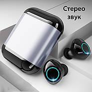 Наушники беспроводные Wi-pods S7 металлик: распаковка