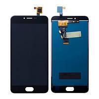 Дисплей Meizu M3, M3 mini (M688H) з сенсорним екраном Black (PRC)