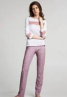 Хлопковая женская пижама ELLEN с кружевом Размер XL