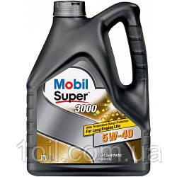 Масло моторное Mobil SUPER 3000 X1 5W-40 4L