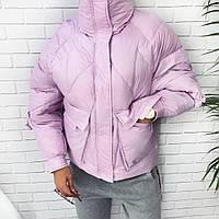 Женская модная теплая куртка  ГН649