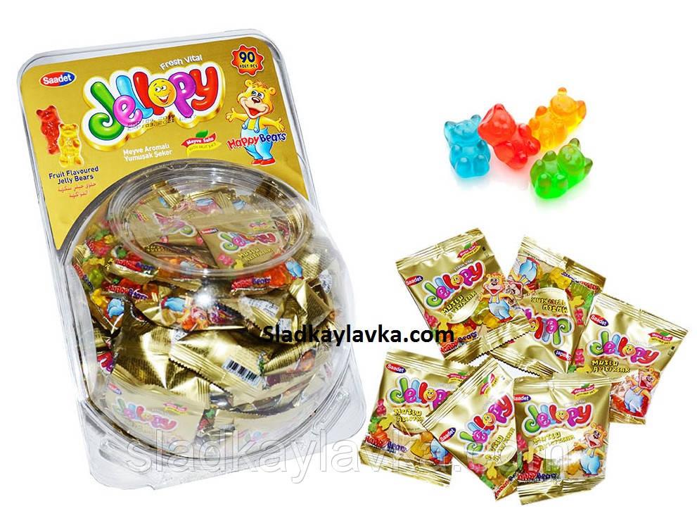 Желейная конфета Jellopy Мишки  90 шт (Saadet)