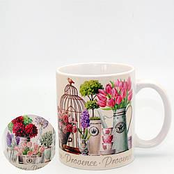 Чашка (кружка) декоративная Прованс (увелич. принт)