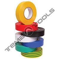 Лента изоляционная (изолента) ПВХ 0,13 мм x 19 мм x 10 м ассорти