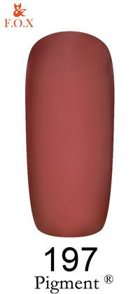 Гель-лак F. O. X Pigment №197, 6 мл