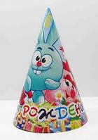 Колпачок на голову Смешарики  С Днем рождения