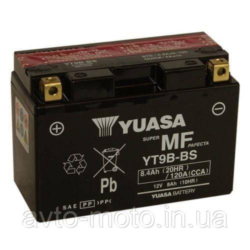 Мото акумулятор Yuasa 8 Ah/12V MF VRLA Battery AGM (сухозаряжений)