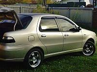 Дефлектора окон FIAT Albea 2006-