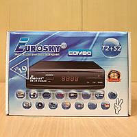 Спутниковый ресивер Eurosky ES-19 COMBO T2/S2