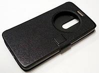 Чехол книжка с окошком momax для LG G3 stylus d690 черный, фото 1