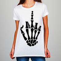 Женская футболка Push IT с принтом Кисть руки