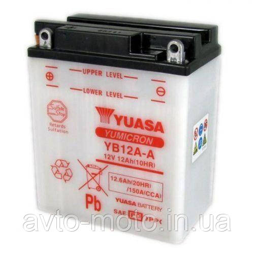 Мото акумулятор Yuasa 12.6 Ah/12V YuMicron Battery (сухозаряжений)