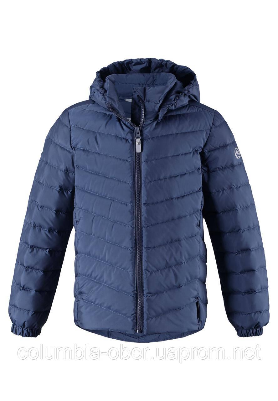 Демисезонная куртка-пуховик для мальчика Reima 531341-6980. Размеры 104-158.