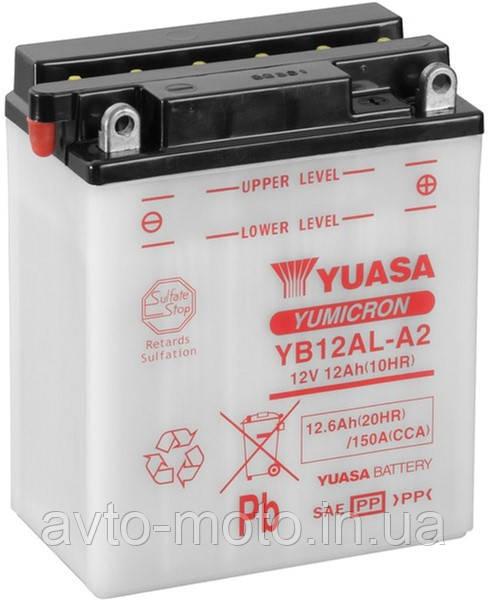 Мото аккумулятор Yuasa 12.6 Ah/12V YuMicron Battery (сухозаряжений)
