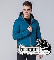 Braggart Evolution 1295 | Мужская ветровка бирюзовая