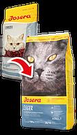 Йозера Лиже Josera Leger сухой корм для стерилизованных кошек и кастрированных котов с лососем 10 кг