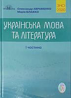 ЗНО 2020 Українська мова та література (1 частина), Авраменко О.