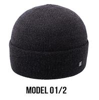 Шапка Ozzi classic №01, шапка классическая с отворотом утепленная